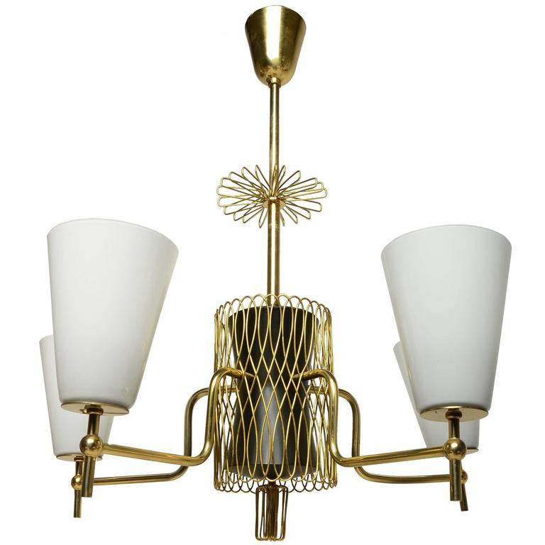 A Superb Paavo Tynell Chandelier