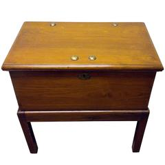 19th Century Lap Desk on Stand