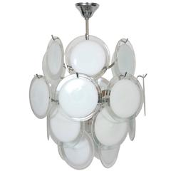 Gino Vistosi Murano Glass Chandelier