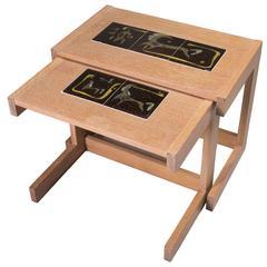 Mid-Century Modern Nesting Tables by Alexandra Kasuba and Vladimir Kagan