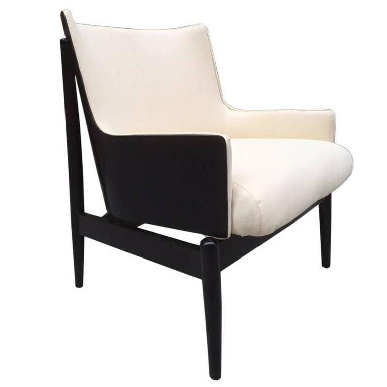 Ib Kofod Larsen Lounge Chair For Sale at 1stdibs