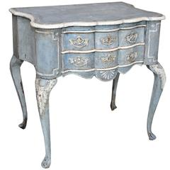 Dutch 19th Century Painted Lowboy or Side Table, circa 1860