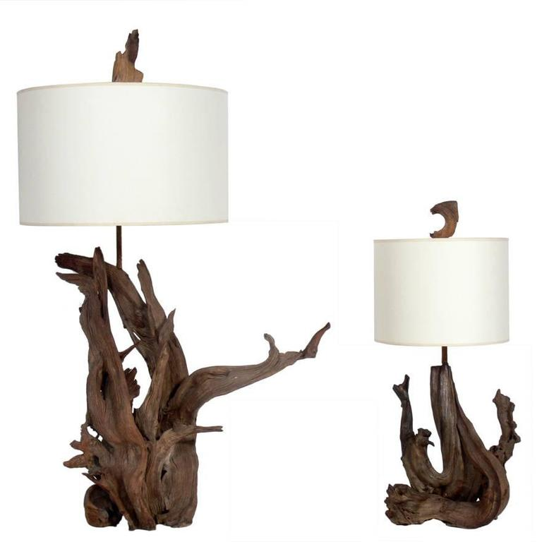 individual pinterest table lamps best images driftwood lamp on pieces othentiquelight of