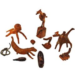 1920-1950 Folk Art Esteve Guix Collection, boxwood - Catalonia, Spain