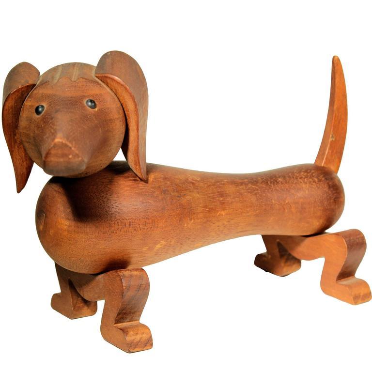 Rare Vintage Kay Bojesen Toy Dog, 1934