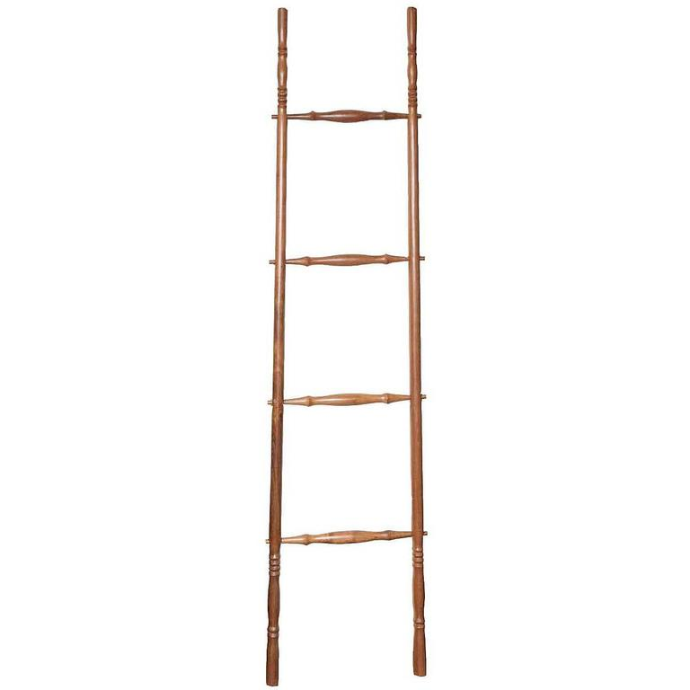 Teak Wood Decorative Ladder For Sale