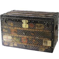 1920s Louis Vuitton Damier Courier Trunk