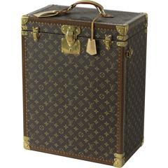 Custom-Made Louis Vuitton Jewelry and Watch Trunk