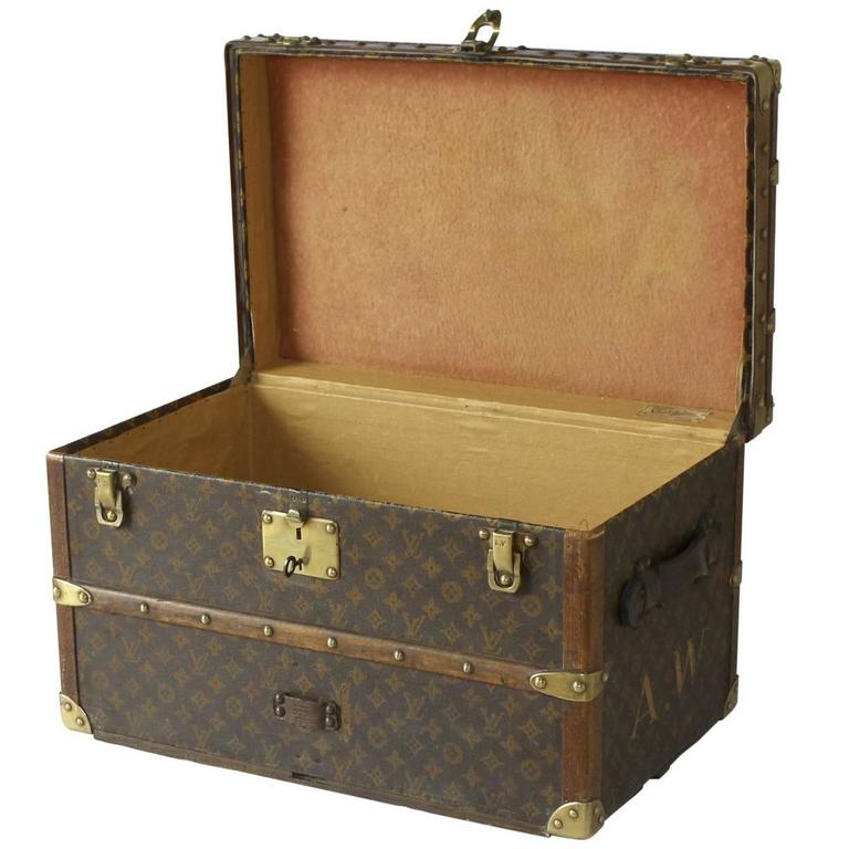 Extremely Rare 1930s Louis Vuitton Shoe Trunk