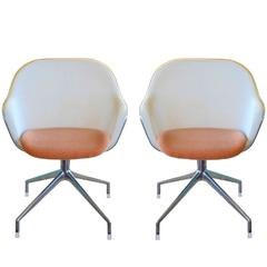 Pair of Iuta Chairs by Antonio Citterio for B&B Italia