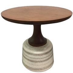 Ceramic Base Table by John Van Koert for Drexel