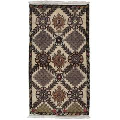Small Turkish 'Cushion Cover' Rug