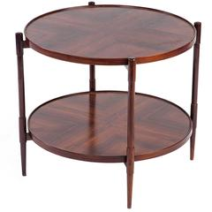 Mid-Century Modern Rosewood Side Table by Joaquim Tenreiro