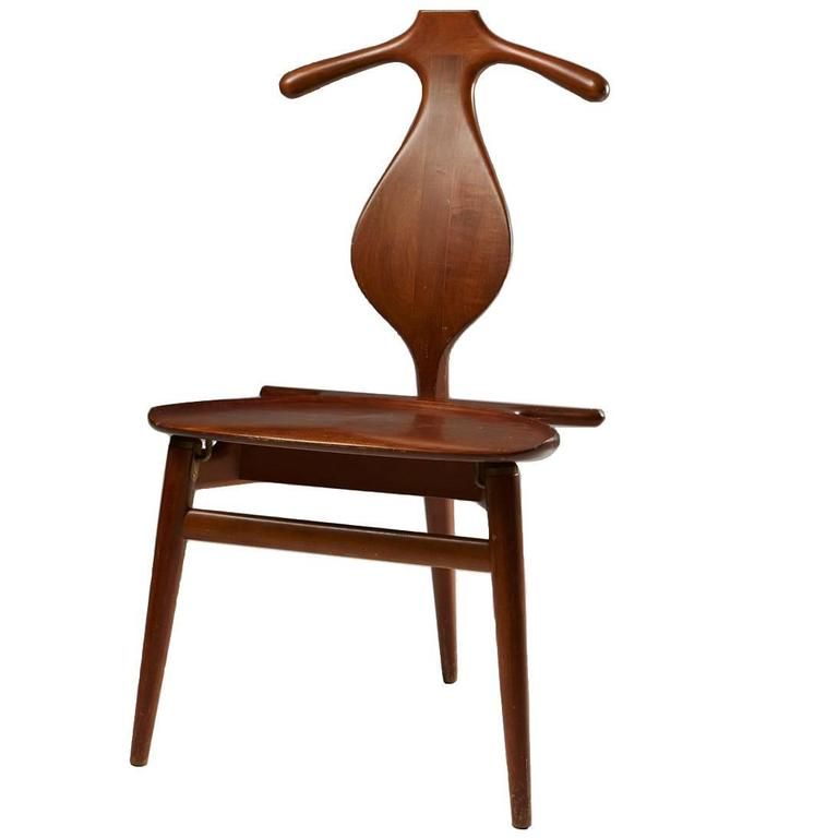Valet Chair Designed by Hans Wegner for Johannes Hansen, Denmark, 1950s For Sale