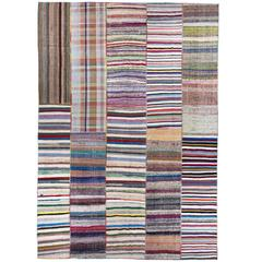 Oversize Colorful Cotton Rag Rug