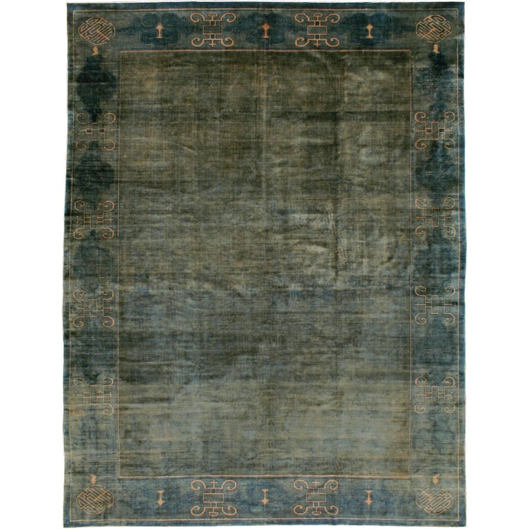 Antique Chinese Peking Carpet For Sale At 1stdibs