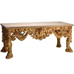 'Kirklington Park' Console Table in the manner of Matthias Lock