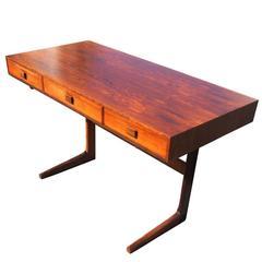 Vintage Midcentury Georg Petersens Rosewood Desk