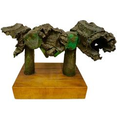 Abstract Bronze Sculpture by Russell Baldwin