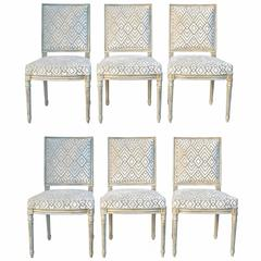 Set of Louis XVI Dining Chairs