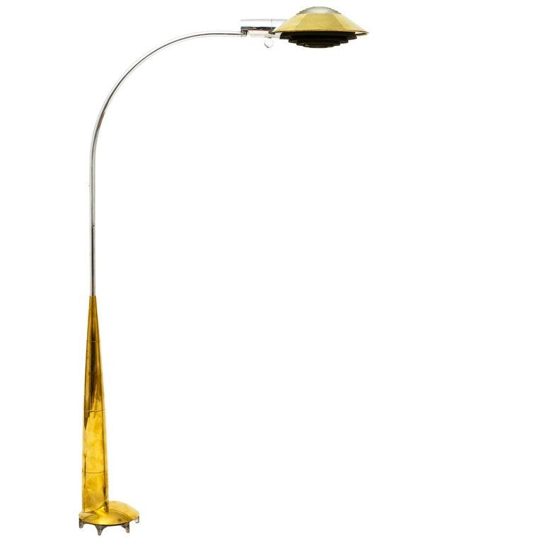 Cedric Hartman 91 CO Precision Floor Lamp in Brass