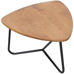 Jacques Hitier Triangle Side or Coffee Table for Tubauto