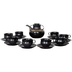 Tapio Wirkkala Tea Set for Rosenthal Series Noire