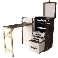 Louis Vuitton Writing Desk Trunk