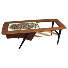 Alfred Hendrickx Coffee Table for Belform, Belgium, 1950s