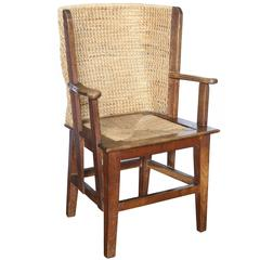 Child's Orkney Chair with Woven Reed Back