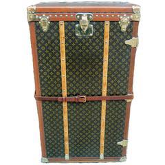 Louis Vuitton Rare Antique Shoebox Wardrobe Trunk