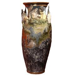 Large Ceramic Vase by the Artist Alain Girel