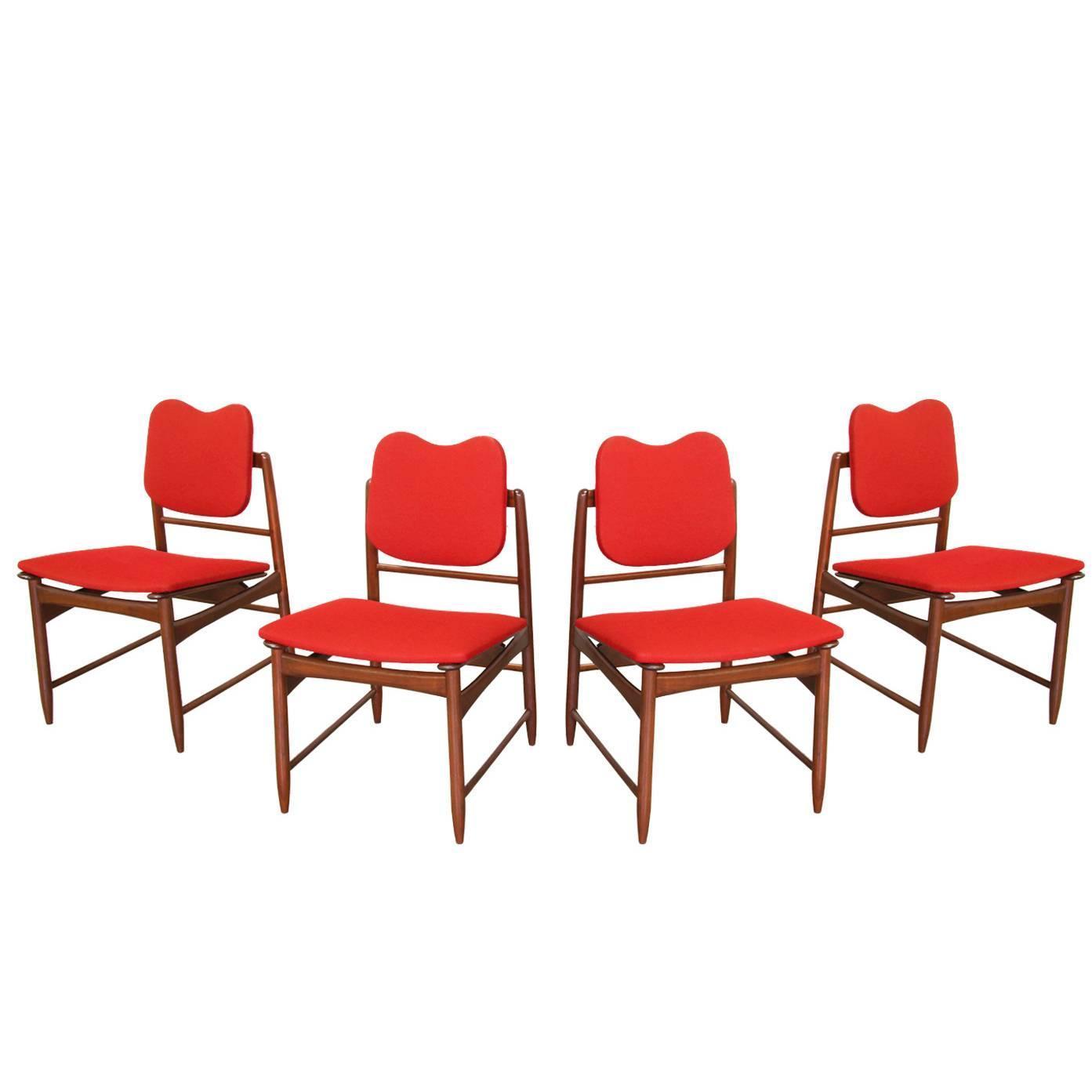 Greta m grossman dining chairs for glenn of california