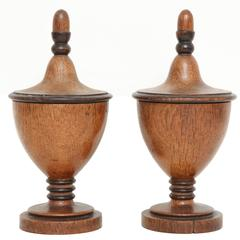 A Pair of Early 19th Century English Neoclassocal Urns