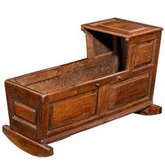 18th Century Oak Cradle