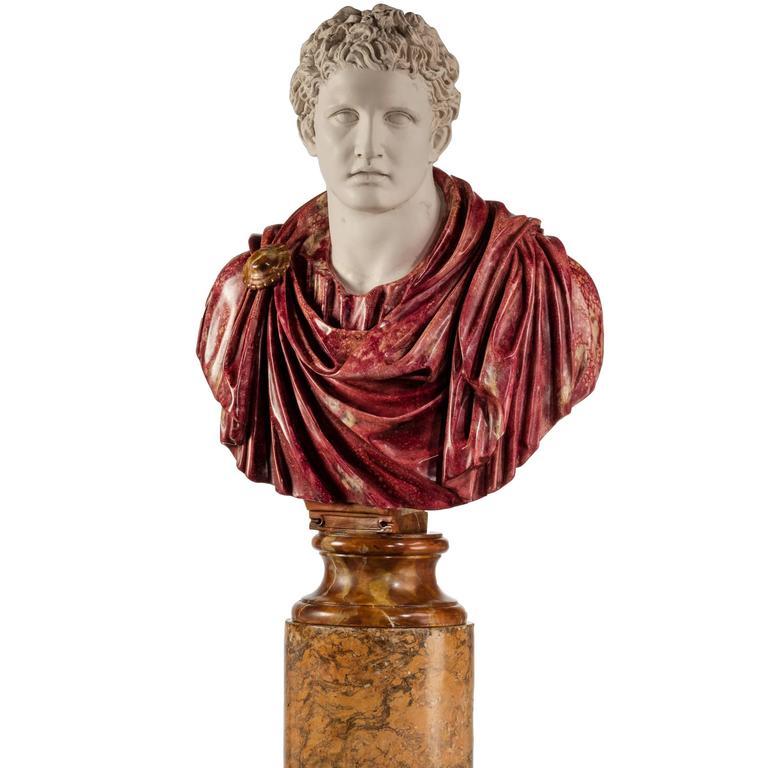 Bust of a Roman Politician Marcus Antonius