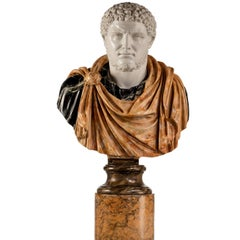 Bust of a Roman Emperor Caracalla