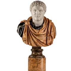 Bust of a Roman Emperor Caracalla