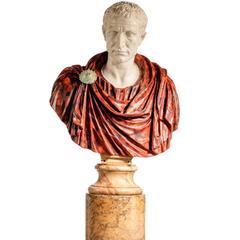 Bust of a Roman Politician Marcus Junius Brutus