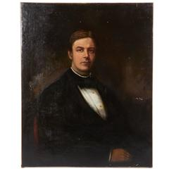 Portrait of a Man in Formal Attire