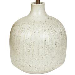 1950s David Cressey Sgraffito 'Pro/Artisan' Table Lamp for Architectural Pottery