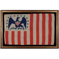American Revenue Cutter Service Ensign Belonging To Capt. W. H. Bagley