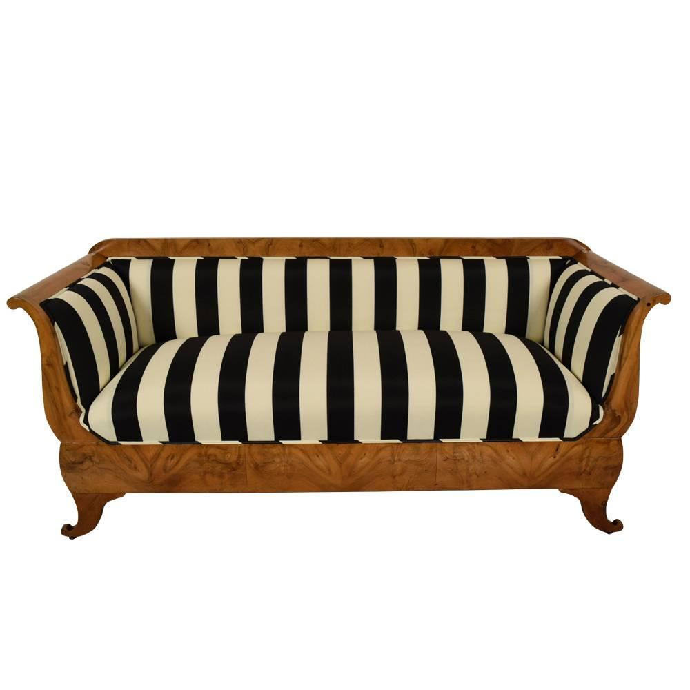 19th century austrian biedermeier sofa at 1stdibs Biedermeier sofa