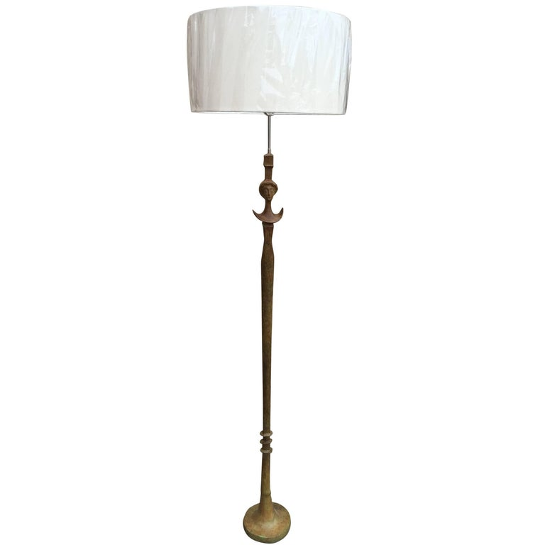 Single Floor Lamp in the Manner of Giacometti