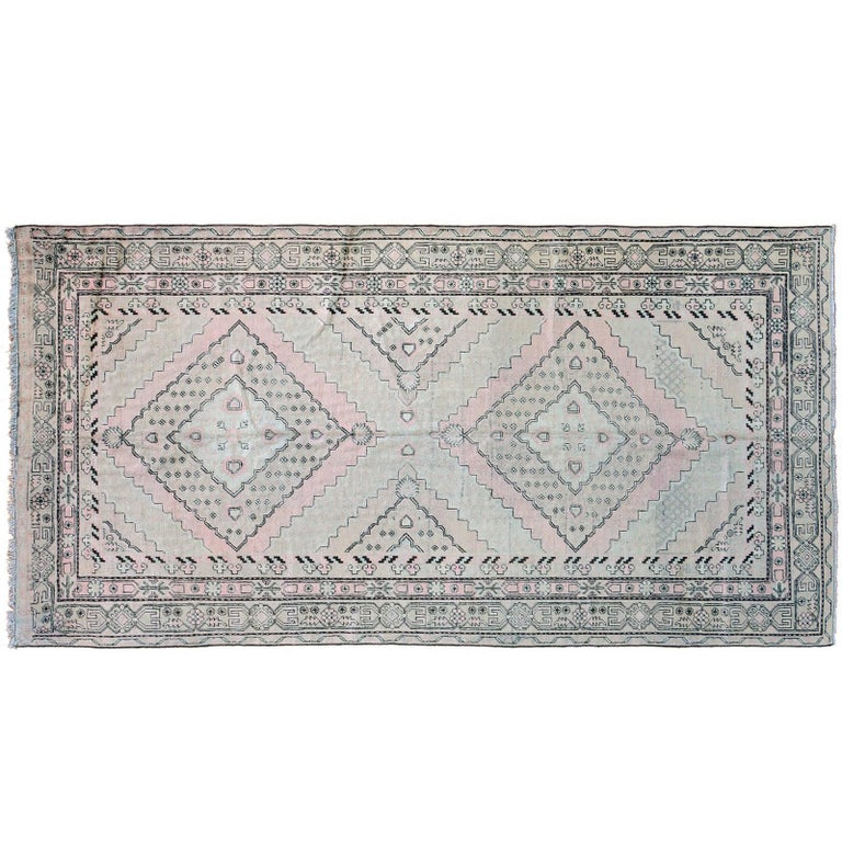 Vintage Samarkand Rug For Sale