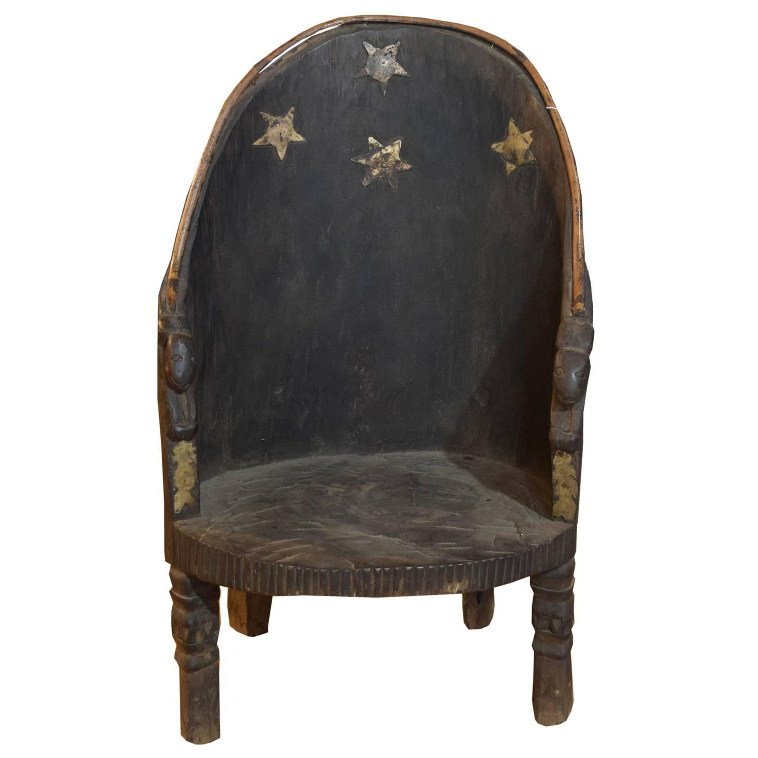 Chief 39 s chair from nagaland india for sale at 1stdibs Xinlan home furniture limited
