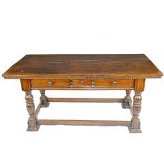 17th-18th Century Italian Walnut Table