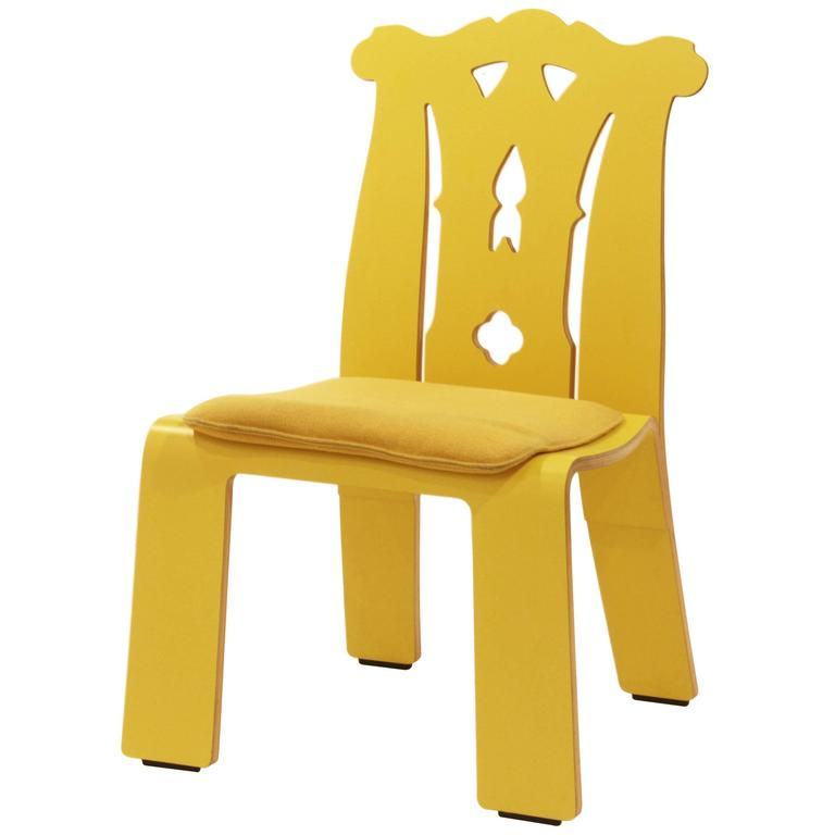 """Robert Venturi's """"Chippendale"""" Chair by Knoll"""