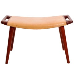Original Production Stool by Hans Wegner for A.P. Stolen