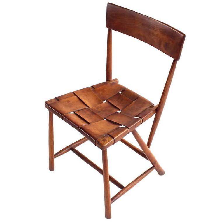 Wharton Esherick Quot Hammer Handle Quot Chair At 1stdibs